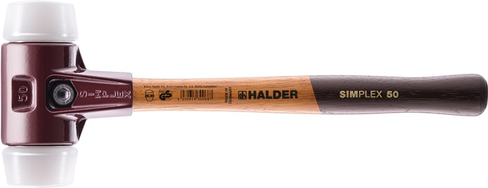 KS hamer Simplex l300mm kopd.30mm middelh.slag 320g hout st.slagk.verst.KS