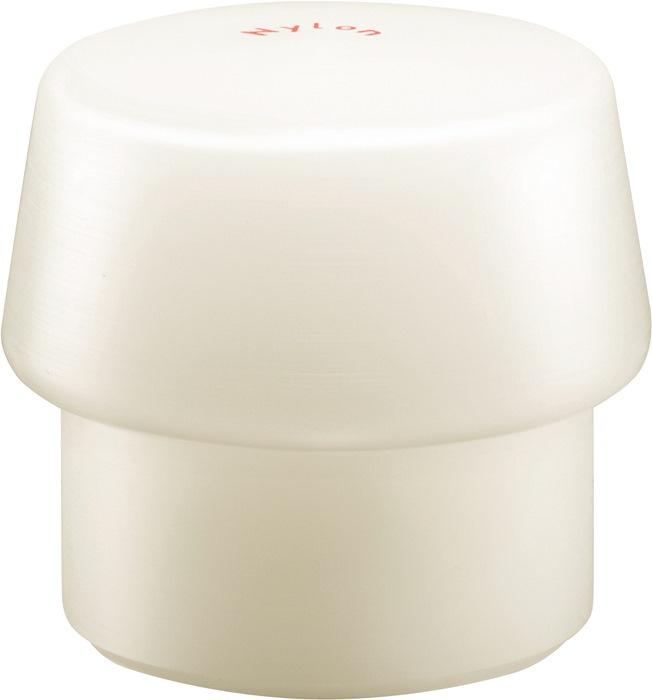 Kunststofhamerkop Simplex kop-d. 80mm nylon wit hard HALDER