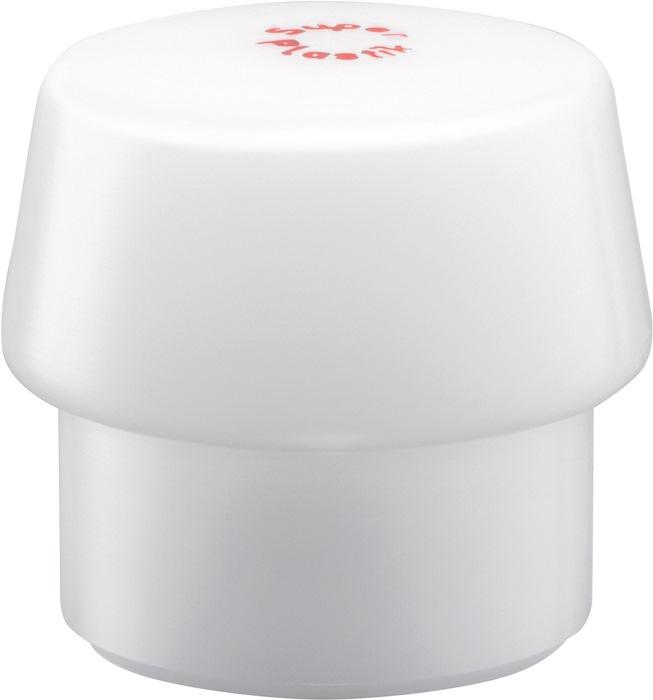 Kunststofhamerkop Simplex kop-d. 40mm superkunststof, wit, middelhard HALDER