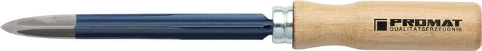 Driekantig holschraapstaal L.150mm B.14mm vorm C DIN8350
