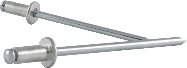 Bli.ng.DIN EN ISO14589 nglh.DxL5x16mm alu/st. kl.geb. 8,0-12,0mm brgt.D5,1mm