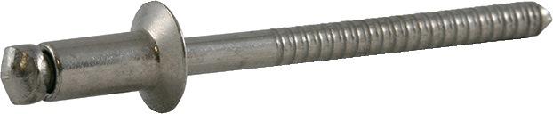 Bli.ng.DIN EN ISO14589 nglh.DxL5x20mm A2/A2 kl.geb. 13,0-15,0mm brgt.D5,1mm