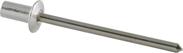Bli.ng. DIN EN ISO14589 nglh.DxL4,8x9,5mm alu/st kl.geb. 3,0-5,0mm brgt.D4,9mm