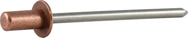 Bli.ng. Certo nglh.DxL3,2x8mm Cu/A2 kl.geb. 1,5-3,5mm brgt.D3,3mm
