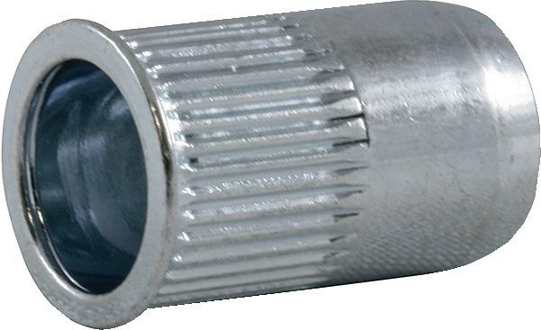 Blindkl.m. SSM-R-KLSK M12-sch. DxL16,0x24,0mm st. kl.geb. 1,0-4,0mm brgt.D16,1mm
