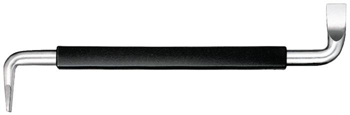 Schroefsleutels sleuf SW5,5 L125mm greep SW v.werken op krappe plekken WIHA