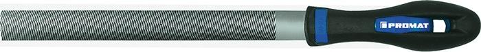 Halfronde vijl DIN7261-E L.200mm kap2 doorsn. 21x6mm in zelfbedieningsverpakkng
