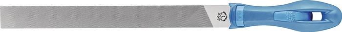 Platstompe vijl DIN7261-A L.200mm kap1 doorsn. 20x5mm m.ergonomisch vijlheft