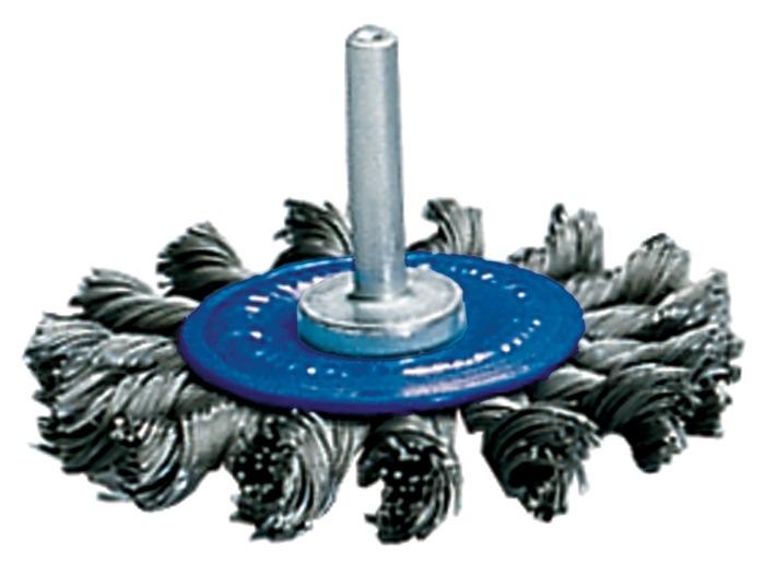 Ronde borstel 75x12mm draad-d.0,5mm staal max.20000min/1 PROMAT
