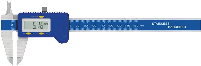 Schuifmaat DIN862 300 mm digitaal vierkant PROMAT