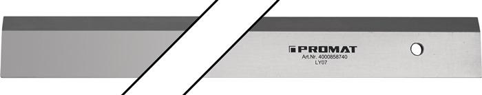 Werkplaatslineaals l.800mm rechtheid 0,2 - 0,3 mm Rechtheid 0,2-0,3 mm PROMAT