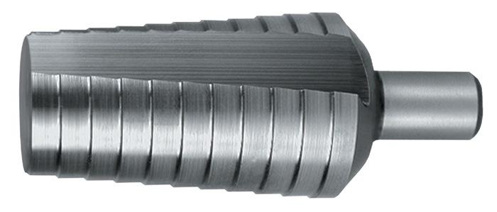 Getrapte boren 20-30mm HSS met rechte groeven 2 snijvlakken PROMAT