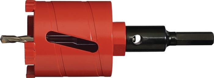 Diamant dozenboor Laser Abrasiv nom.d. 68mm l. 60mm M16 v. werken z.slag PROMAT