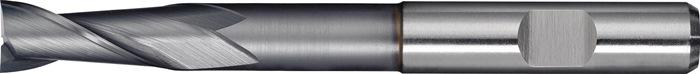 Spiebaanfrezen Type N D.8mm HSS-Co8 TiCN 2 sneden lang PROMAT