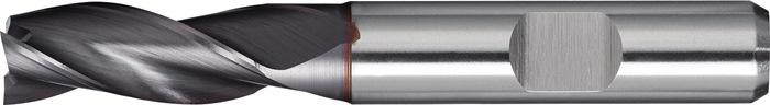 Schachtfrees DIN844 type N d.3mm HSS-Co8 TiCN 3 sneden lang PROMAT