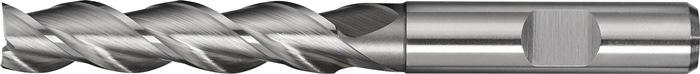 Schachtfrees DIN844 type W d.4mm HSS-Co8 3 sneden lang PROMAT
