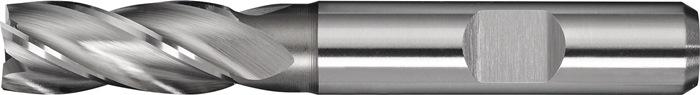Schachtfrees DIN844 type N d.5mm HSS-Co8 4 sneden kort PROMAT