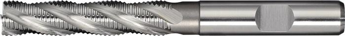 Schachtfrees DIN844 type HR d.12mm HSS-Co5 4 sneden lang PROMAT