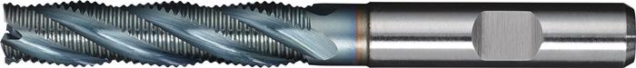 Schachtfrees DIN844 type HR d.14mm HSS-Co5 TiCN 4 sneden lang PROMAT