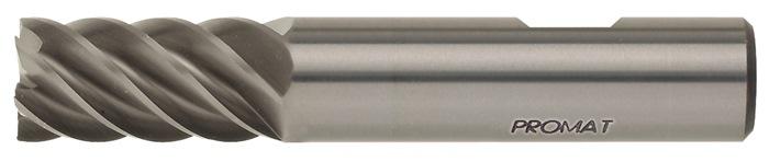 Schachtfrees DIN6527L d.10mm VHM 6 sneden lang PROMAT