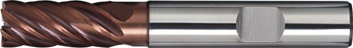 Schachtfrees DIN6527L d.8mm VHM TiAIN 6 sneden lang PROMAT