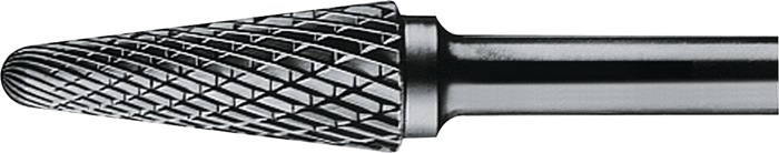 Stiftfr. vorm KEL DIN8033 d.8xL.25mm HM kruis. vert. rnd kegelvorm PROMAT