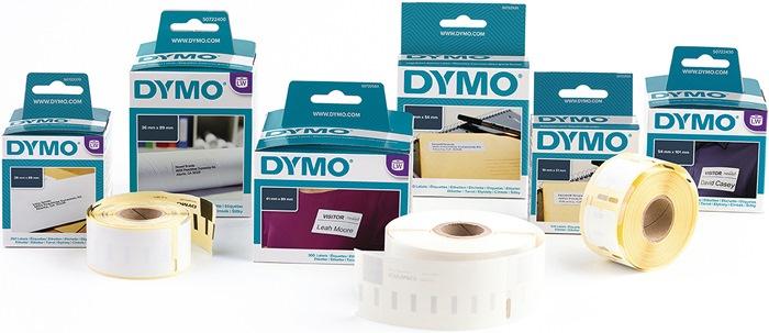 Etiket DYMO LabelWriter B.19mm/L.51mm losneem. v.LW450 400/310/320/330 500 st/rl