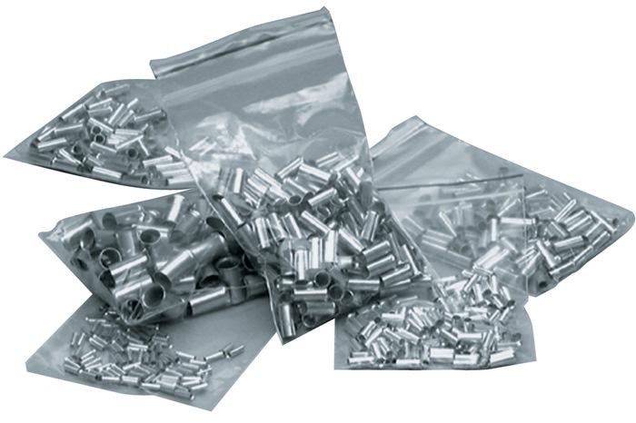 Adereindhulzen blank doorsn.2,5mm2 L.7mm vertind 1000 st./zak/VE