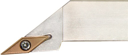 Klemdraaihouder SVJBL 2525 M16 links vernikkeld uitwendig draaien PROMAT