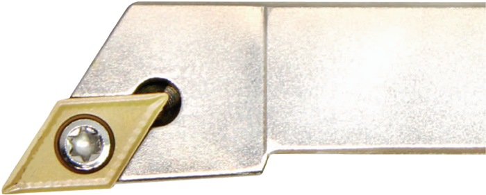 Klemdraaihouder SDJC 2525M11-M li. vernikkeld uitwendig draaien PROMAT