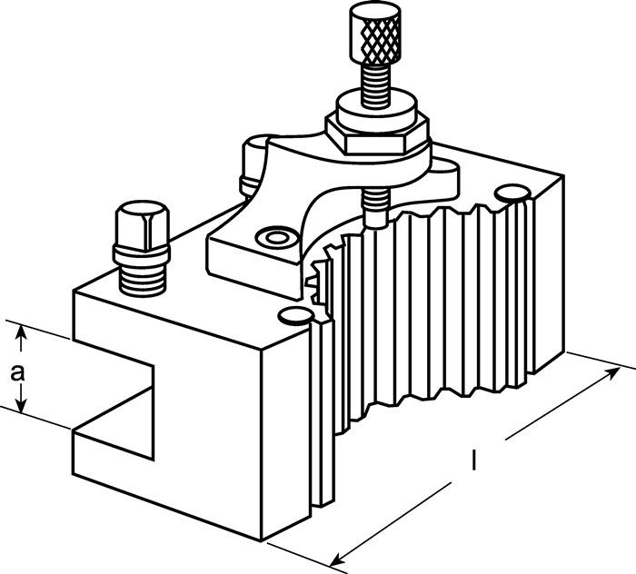 Wisselhouder v.beitelhouder D1 A.63mm