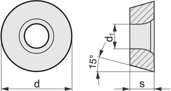 Draaibeitel RDHT 1604MO-AL type N20 v.kopieerfrezen kopieerfrezen PROMAT