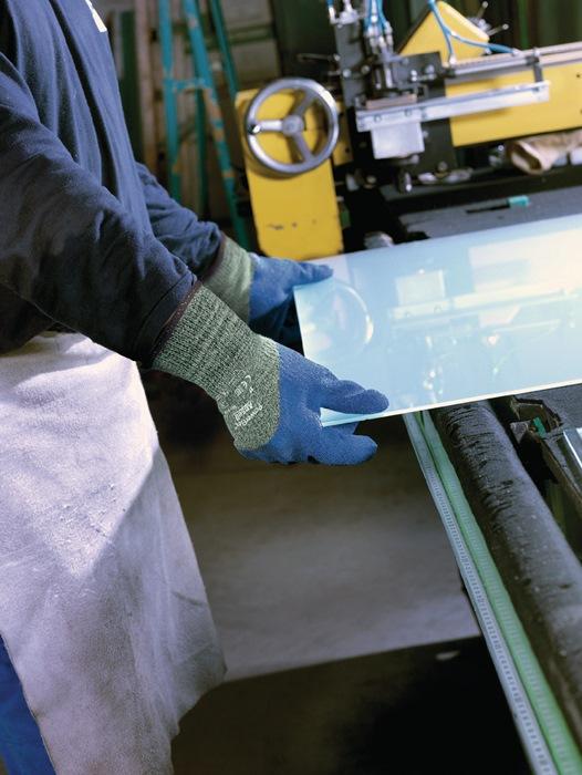 Handschoen EN388/407 cat.II PowerFlex 80-658 mt.9 staal glasvezel Kevlar
