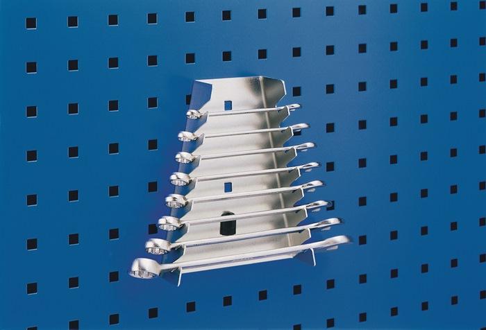 Moersleutelhouder B.75/145xD.40xH.180mm m.8 houders v.geperforeerde platen BOTT