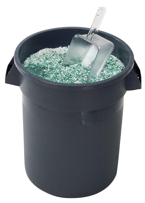 Schep v.inhoud 1,9l glashelder polycarbonaat afwasmachinebestendig RUBBERMAID
